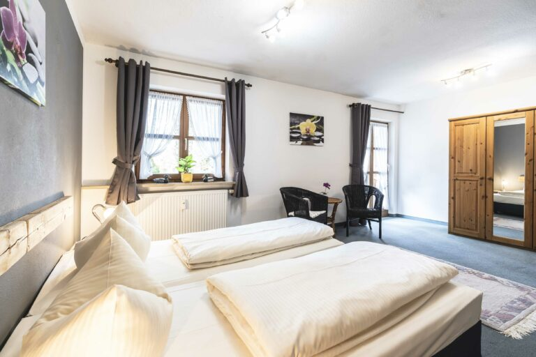 Herzogstand Doppelzimmer