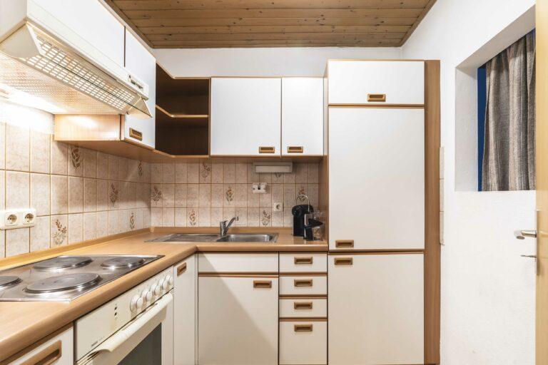 Herzogstand Doppelzimmer Küche
