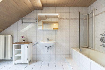 Herzogstand Ferienwohnung 160qm Badezimmer
