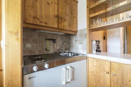 Hotel Herzogstand Ferienwohnung Küche