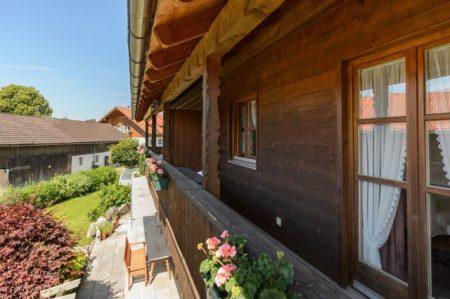 Ferienhaus am Klosteranger Gasthof Herzogstand Ferinwohnung Fassade